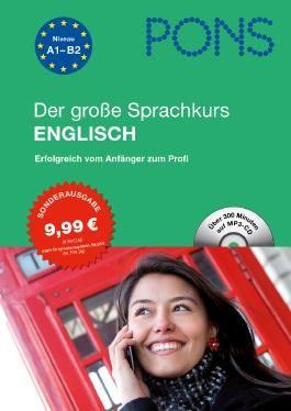 PONS Der große Sprachkurs Englisch, m. MP3-CD