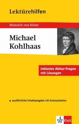 """Lektürehilfen Heinrich von Kleist """"Michael Kohlhaas"""""""