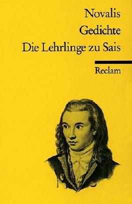 Gedichte / Die Lehrlinge zu Sais