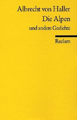 Die Alpen u. a. Gedichte