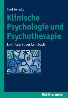 Klinische Psychologie und Psychotherapie