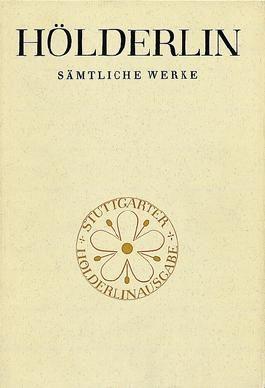 Sämtliche Werke / Grosse Stuttgarter Ausgabe / Gedichte nach 1800