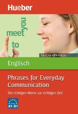 Taschentrainer Englisch – Phrases for Everyday Communication