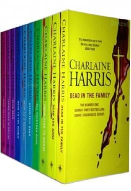 True Blood 10 Book Complete Collection - Dead in the Family (Book 10) Dead and Gone 9) From Dead to Worse 8) All Together Dead 7) Definitely Dead 6) Dead as a Doornail 5) Dead to the World 4) Club Dead 3) Living Dead in Dallas 2) Dead Until Dark 1)