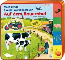 Mein erstes Puzzle-Wortbilderbuch - Auf dem Bauernhof