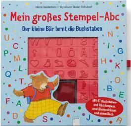 Mein großes Stempel-Abc. Der kleine Bär lernt die Buchstaben