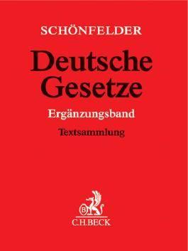 Deutsche Gesetze Ergänzungsband / Deutsche Gesetze Ergänzungsband