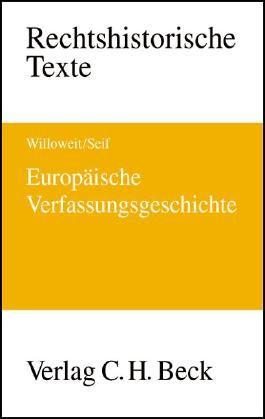 Europäische Verfassungsgeschichte