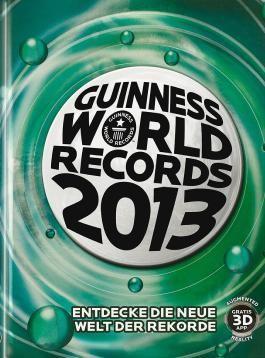 Guinness World Records Buch 2013