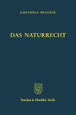 Das Naturrecht.