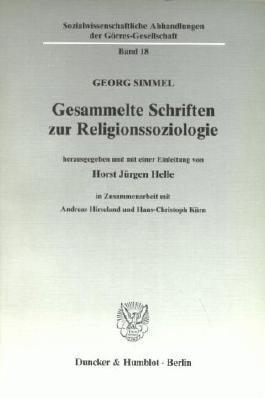 Gesammelte Schriften zur Religionssoziologie.