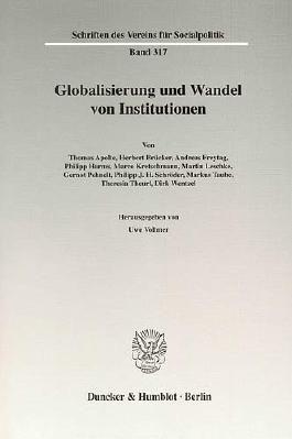 Globalisierung und Wandel von Institutionen.