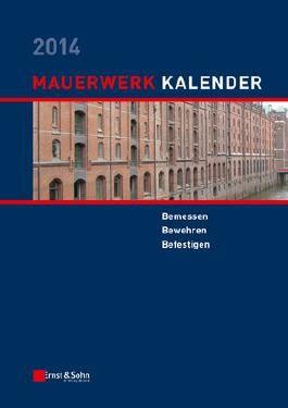 Mauerwerk-Kalender 2014: Befestigungen