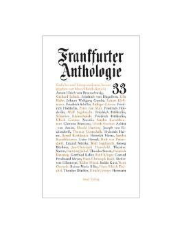 Frankfurter Anthologie. Gedichte und Interpretationen