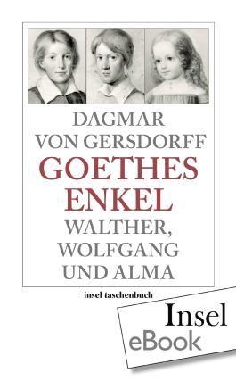 Goethes Enkel: Walther, Wolfgang und Alma (insel taschenbuch)