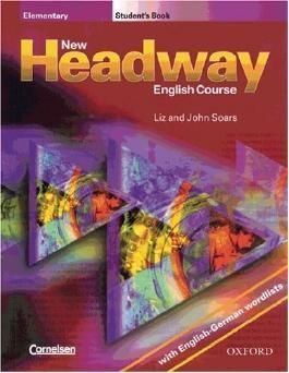 New Headway English Course: Elementary, Student's Book, with English-German wordlists