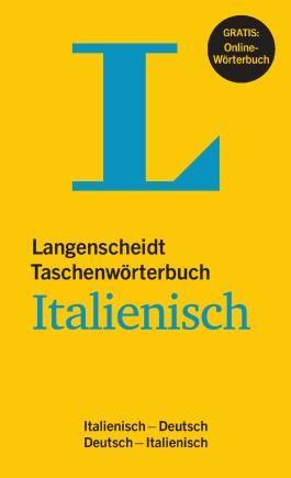 Langenscheidt Taschenwörterbuch Italienisch - Buch mit Online-Anbindung