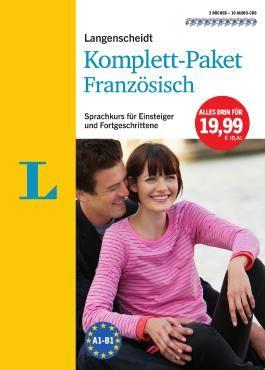 Langenscheidt Komplett-Paket Französisch - 3 Bücher mit 10 CDs