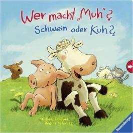 """Wer macht """"Muh""""? Schwein oder Kuh?"""