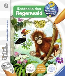 tiptoi® Entdecke den Regenwald