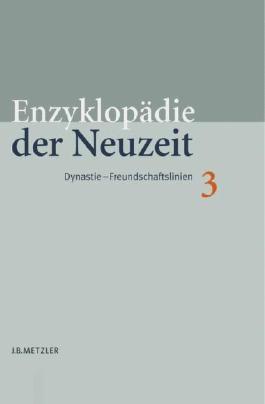 Enzyklopädie der Neuzeit. Gesamtausgabe / Enzyklopädie der Neuzeit