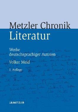Metzler Literatur Chronik