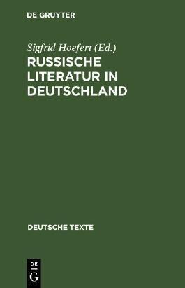 Russische Literatur in Deutschland