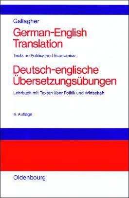 German-English Translation<br>Deutsch-englische Übersetzungsübungen
