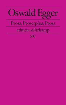 Prosa, Proserpina, Prosa