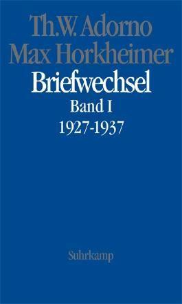 Briefwechsel 1927-1969. Bd.1