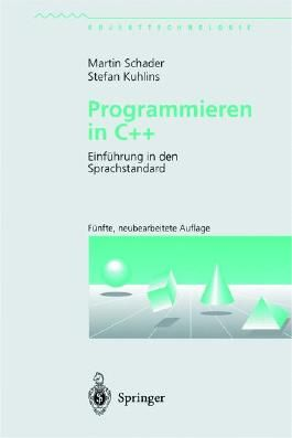 Programmieren in C++