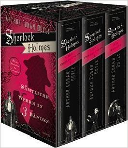 Sämtliche Sherlock-Holmes-Romane und Stories, 3 Bde.
