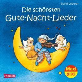 Maxi Pixi 2: Die schönsten Gute-Nacht-Lieder