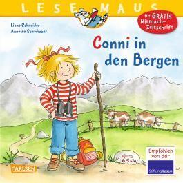 LESEMAUS 132: Conni in den Bergen