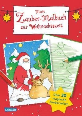 Mein Zaubermalbuch zur Weihnachtszeit