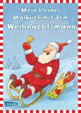 Mein kleines Malbuch mit dem Weihnachtsmann