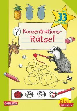Pixi kreativ 84: Konzentrations-Rätsel