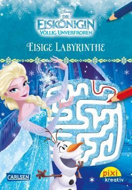 Pixi kreativ 100: Disney: Die Eiskönigin - Völlig unverfroren / Eisige Labyrinthe