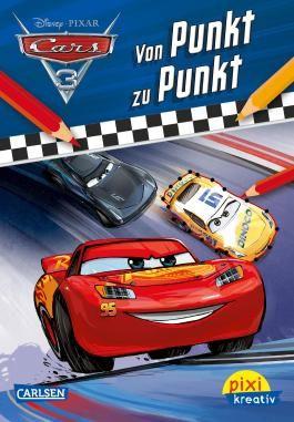 Pixi kreativ 111: Disney Cars 3 - Von Punkt zu Punkt