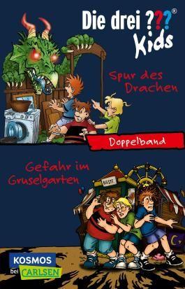 Die drei ??? Kids: Spur des Drachen / Gefahr im Gruselgarten (Doppelband)