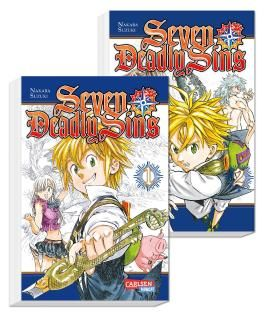 Seven Deadly Sins Doppelpack 1-2