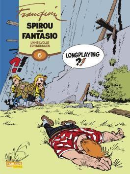 Spirou & Fantasio Gesamtausgabe 6: Gefährliche Erfindungen