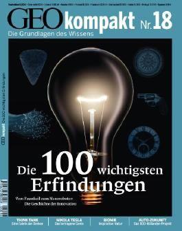 GEO kompakt / GEOkompakt 18/2009 - Die 100 wichtigsten Erfindungen