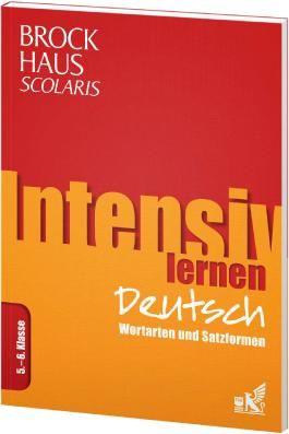 Brockhaus Scolaris Intensiv lernen Deutsch 5.-6. Klasse
