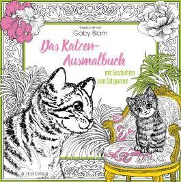 Das Katzen-Ausmalbuch mit Geschichten zum Entspannen