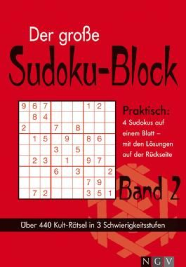 Der große Sudoku-Block. Bd.2