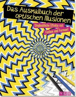 Das Ausmalbuch der optischen Illusionen