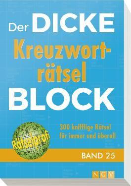 Der dicke Kreuzworträtsel-Block Band 25
