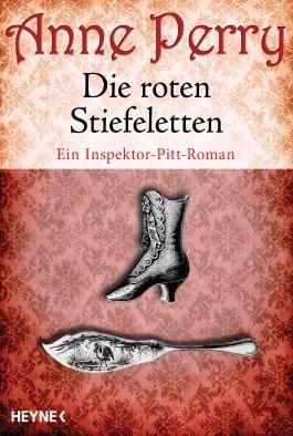 Die roten Stiefeletten: Ein Inspektor-Pitt-Roman