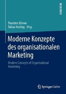 Moderne Konzepte des organisationalen Marketing